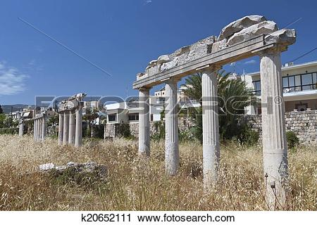 Stock Photography of Kos island in Greece k20652111.