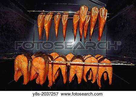 Picture of Koserower Salzhuetten, fishermen huts, smoked fish.