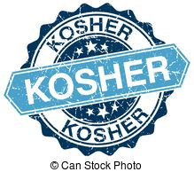 Vector Clipart of kosher stamp. sign. seal csp43000001.