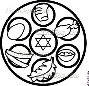 kosher foods Vector Clip art.