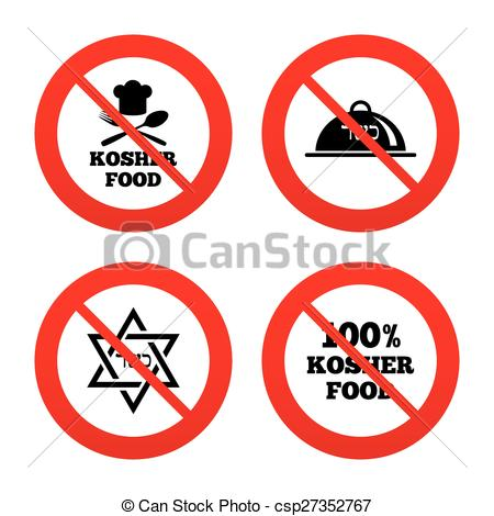 Kosher food clipart.