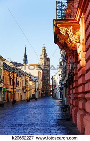 Picture of Mlynska street, Kosice, Slovakia k20662227.