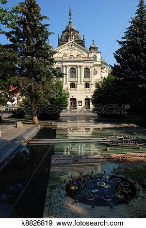Stock Photograph of Kosice City Hall k8826819.