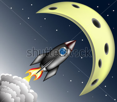 Moon Orbit Clipart.