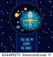 Kosmos Clip Art Royalty Free. 14 kosmos clipart vector EPS.
