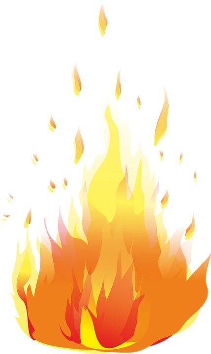 Free vector graphic: Koster, Flame, Fire.