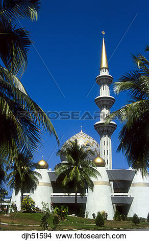 Stock Photo of Malaysia, Borneo, Sabah, Kota Kinabalu, State.