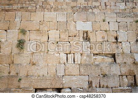 Western Wall in Jerusalem.