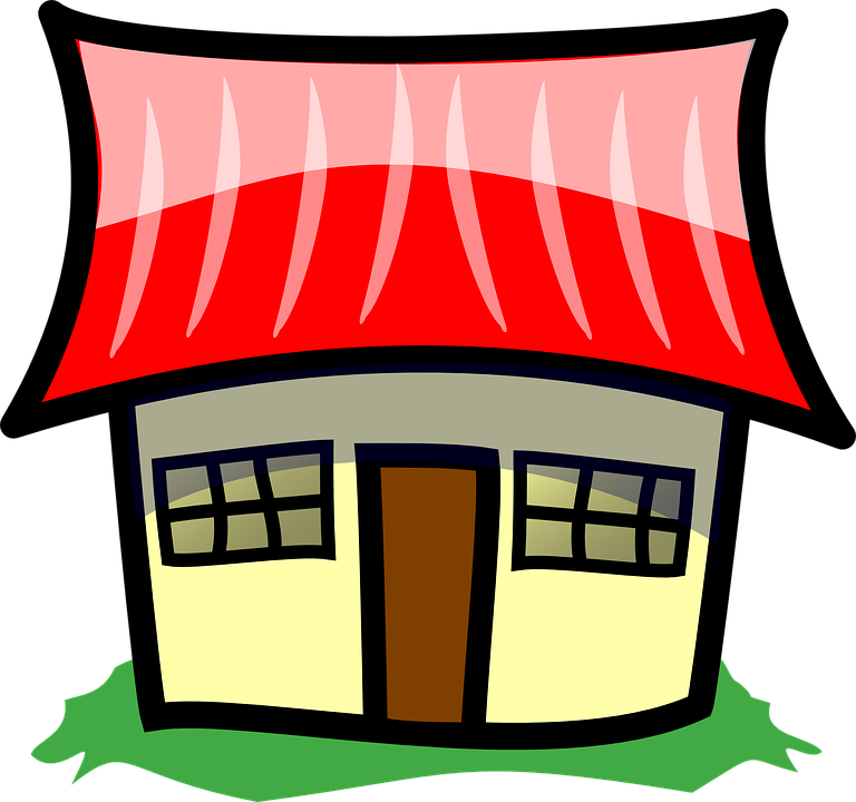 Free vector graphic: Family Home, House, Home.