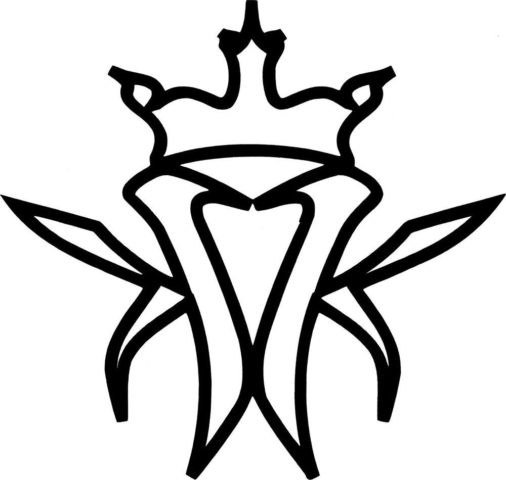 17220 Black Kottonmouth Kings Logo Hip Hop Rap Music Rub.