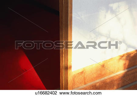 Stock Photo of Shoji door, Kozan.