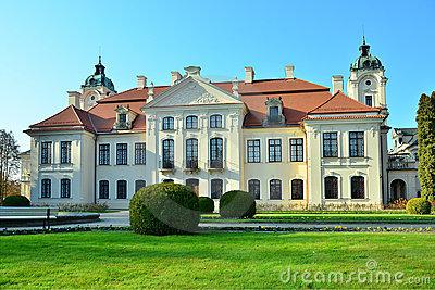 Palace, Kozlowka, Poland Royalty Free Stock Photo.