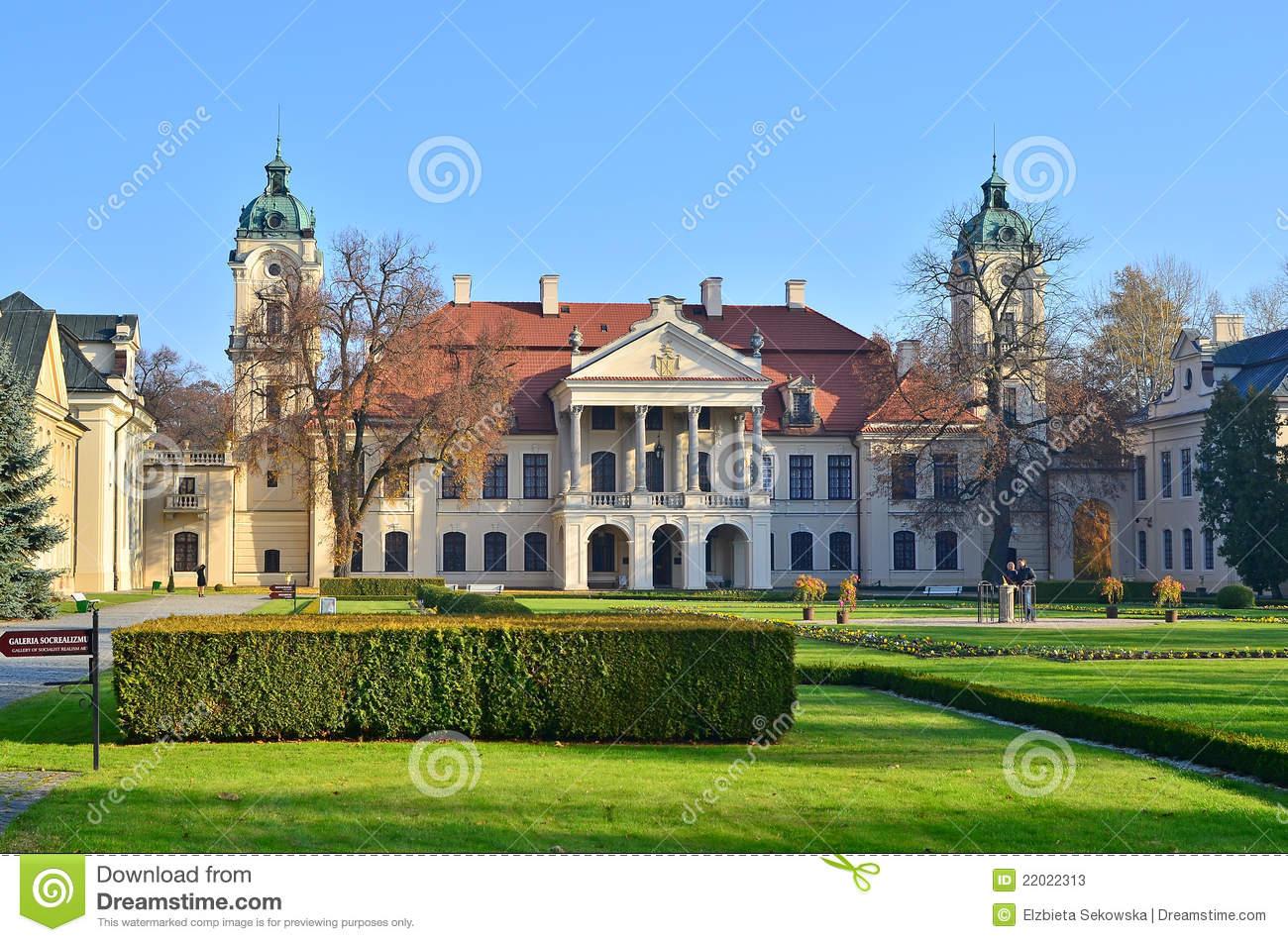 Kozlowka Palace Stock Photos.