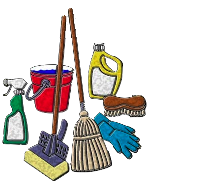 Cleaning Service Clipart.