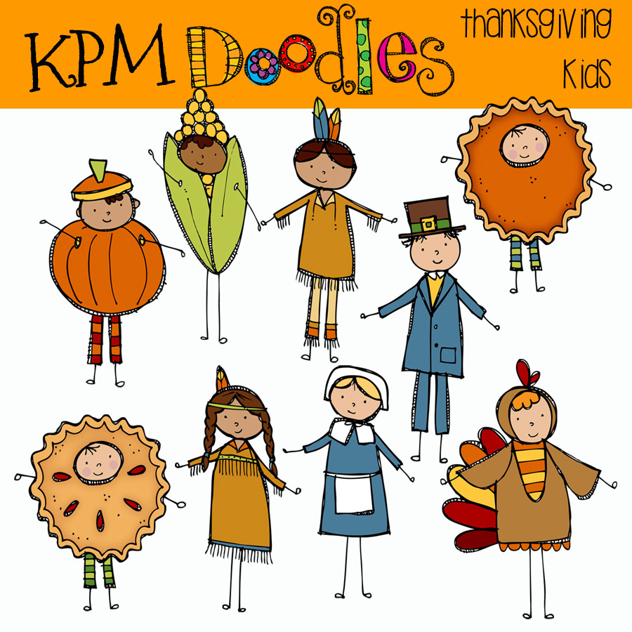 kpm doodles digital clipart #9