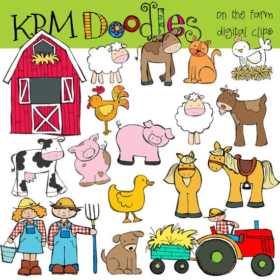 KPM On the Farm Digital Clip art.
