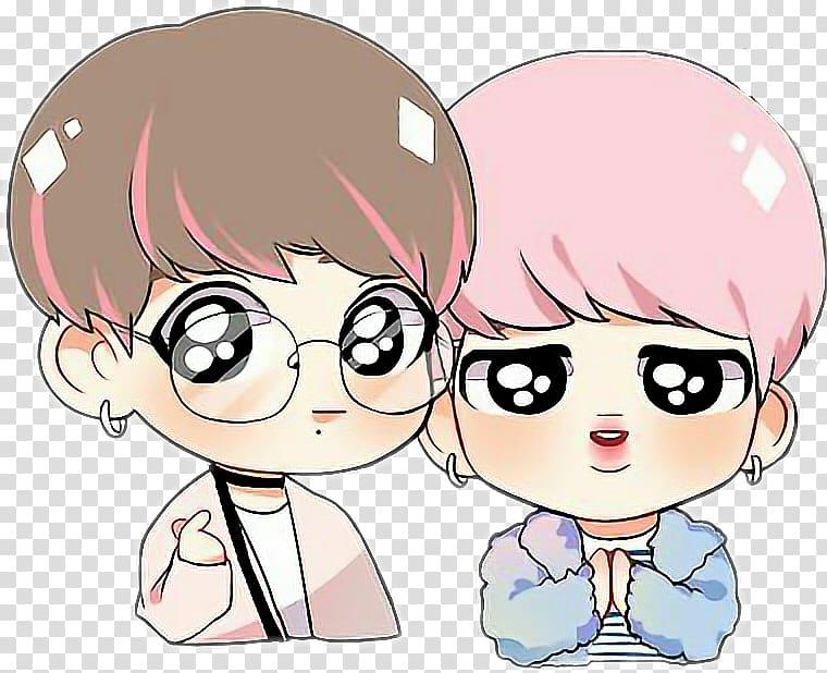 BTS Drawing Fan art Chibi K.