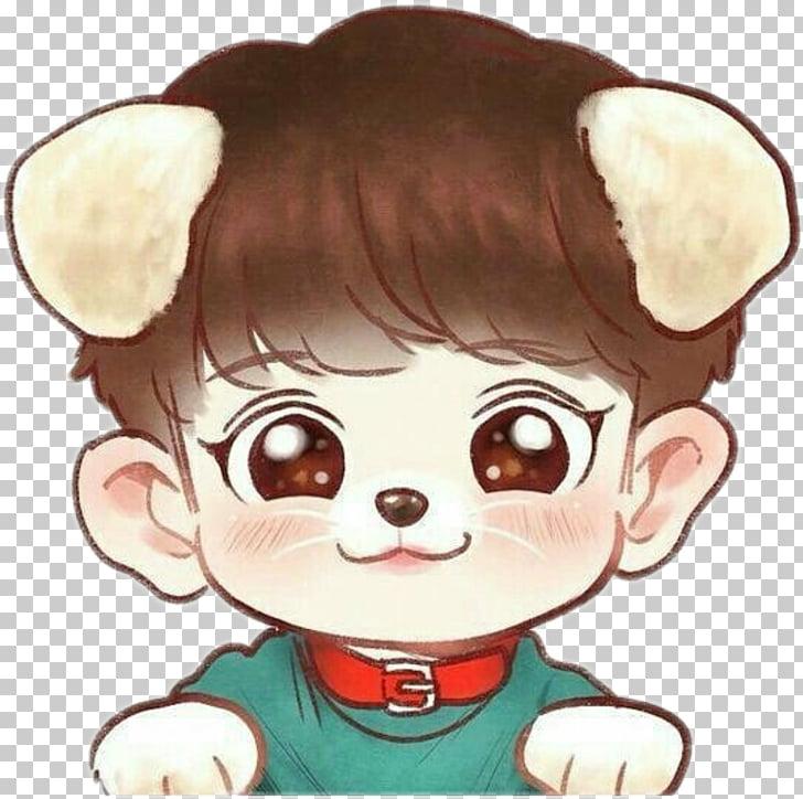 EXO Chibi Fan art Drawing K.