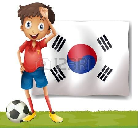 6,538 Korean Flag Stock Vector Illustration And Royalty Free.