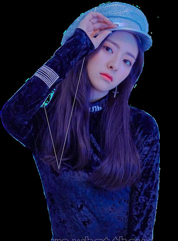 Itzy Yuna itzy yuna itzyyuna kpop png freetoedit.
