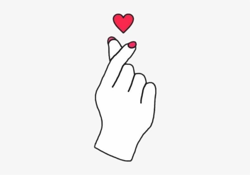 Hand Hands Heart Tumblr Kpop Aesthetic.