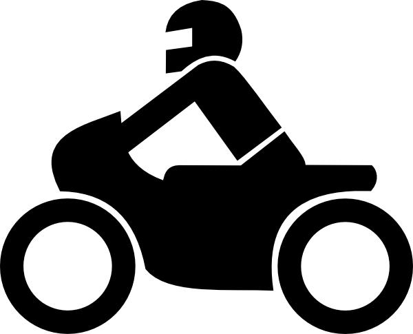 Motorrad Aus Zusatzzeichen Clip Art at Clker.com.