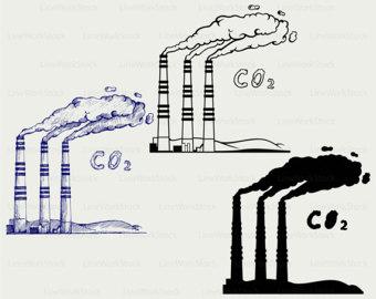 Kohlekraftwerk clipart.