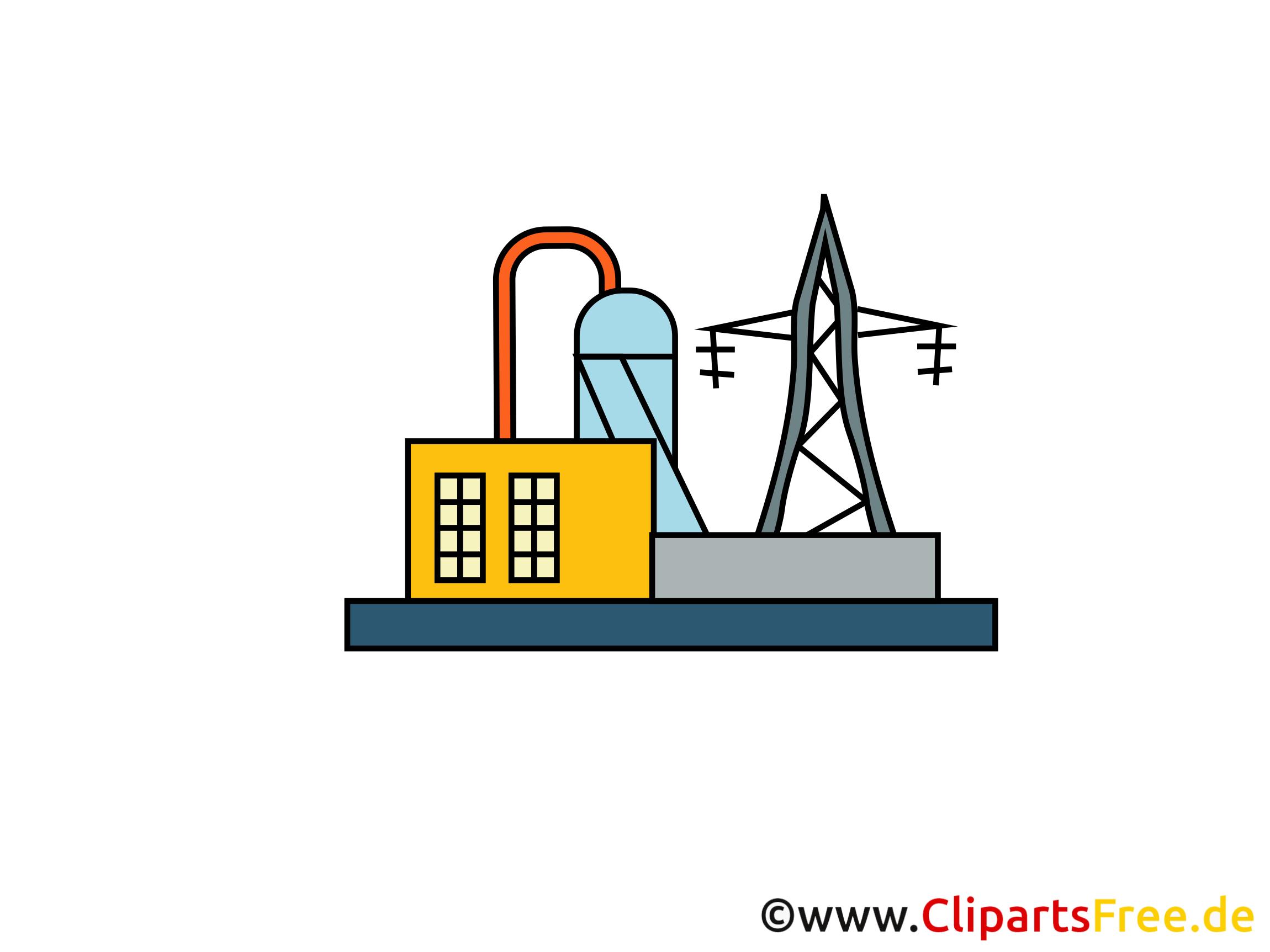 Kraftwerk Bild, Clipart, Illustration, Grafik kostenlos.