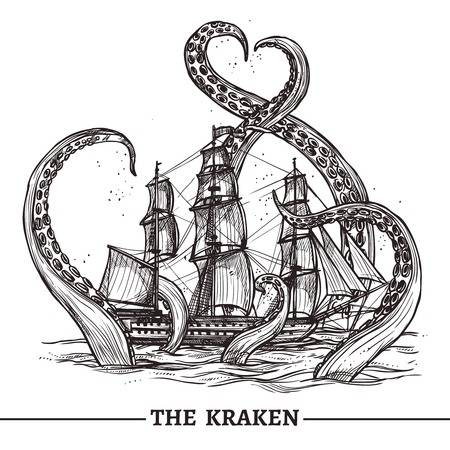 593 Kraken Stock Illustrations, Cliparts And Royalty Free Kraken Vectors.
