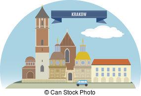 Krakow Illustrations and Clipart. 383 Krakow royalty free.