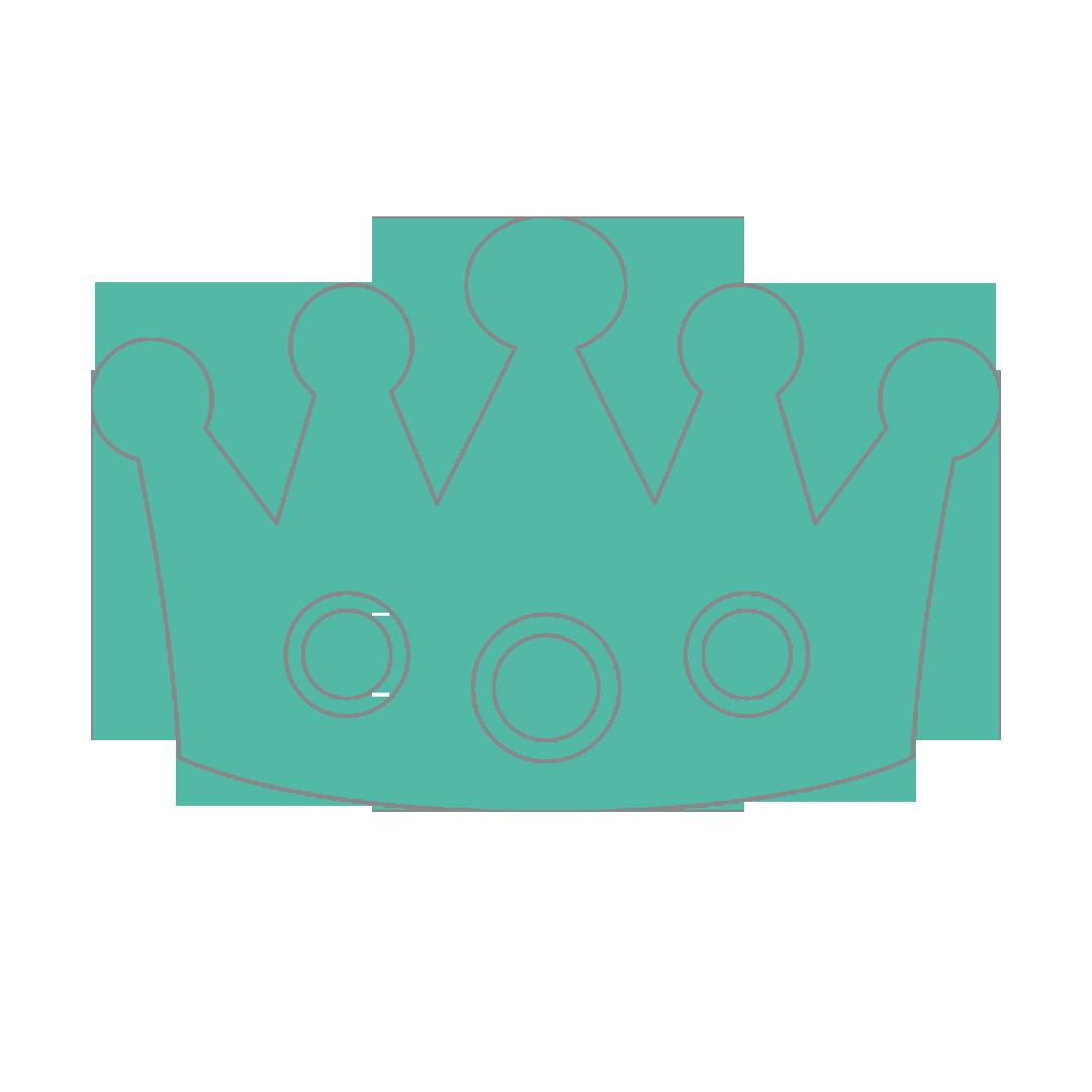 Aslan Kral Bebek Odası Taç Duvar Sticker.
