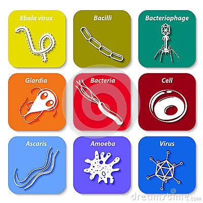 Pathogens clipart.