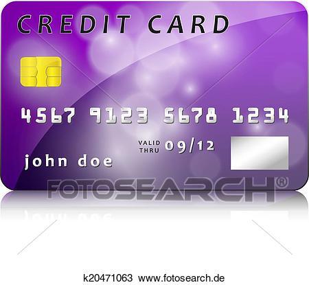 Kreditkarte Clipart.