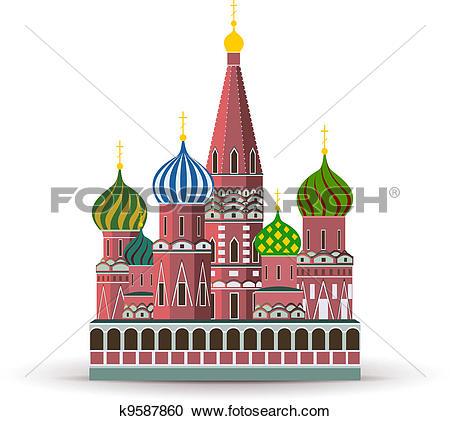 Kremlin Clipart Vector Graphics. 941 kremlin EPS clip art vector.