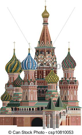 Clipart Vector of Kremlin.