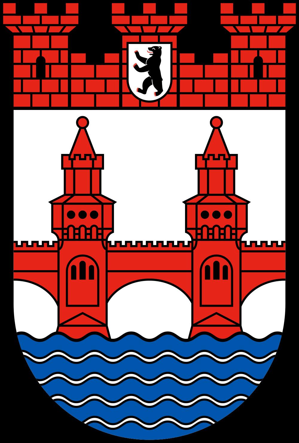 File:Coat of arms of borough Friedrichshain.