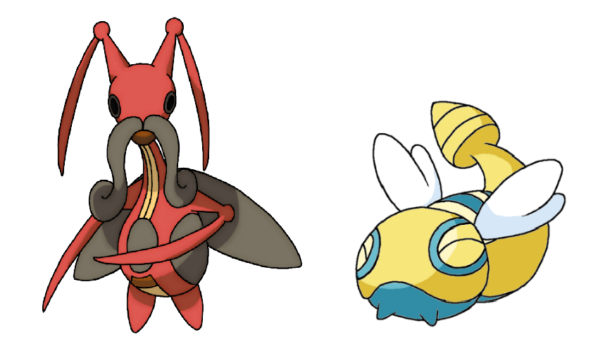 Kricketune and Dunsparce by Ep1cShad0w on DeviantArt.