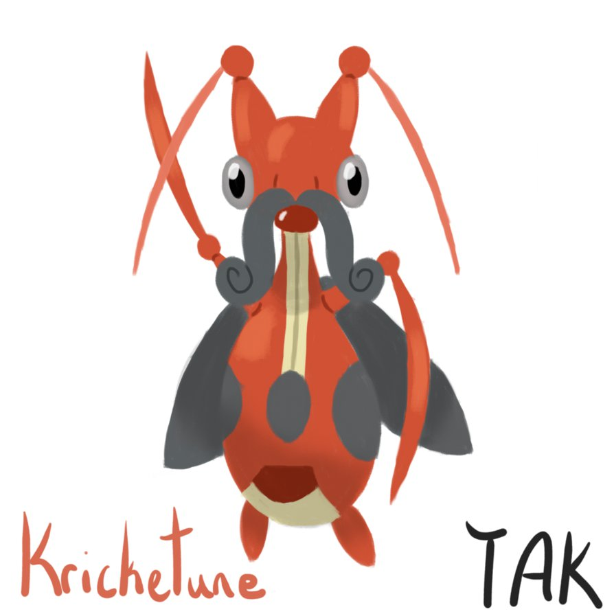 Kricketune by TheAnimalKingdomYT on DeviantArt.