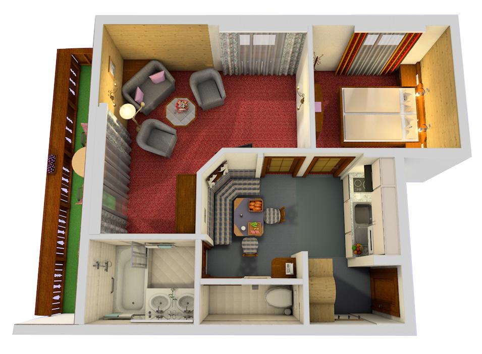 Kriegerhorn Plan (3Dimex.com).