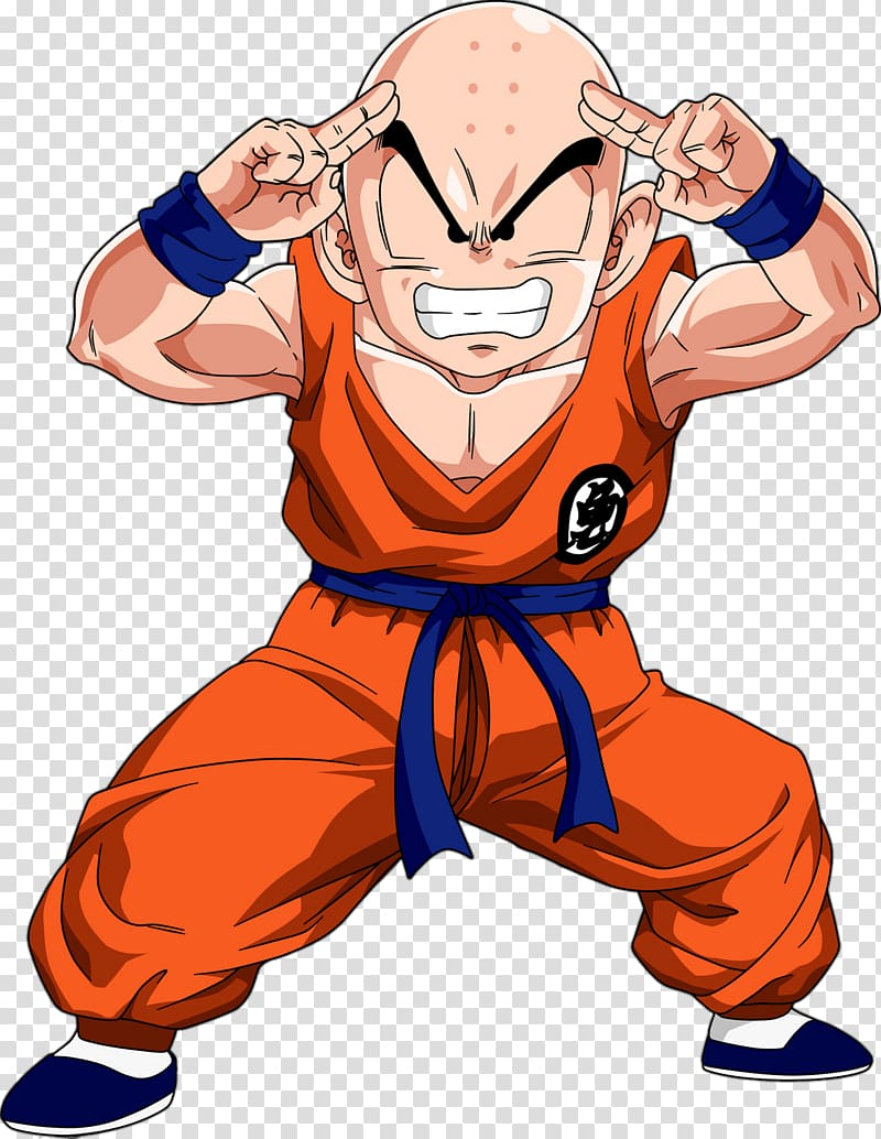 Krillin Goku Gohan Vegeta Majin Buu, goku transparent.