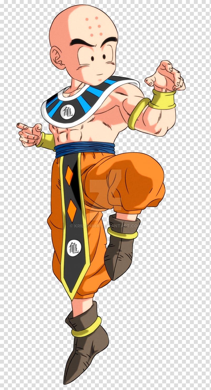 Krillin Goku Yamcha Android 18 Beerus, dragon ball transparent.
