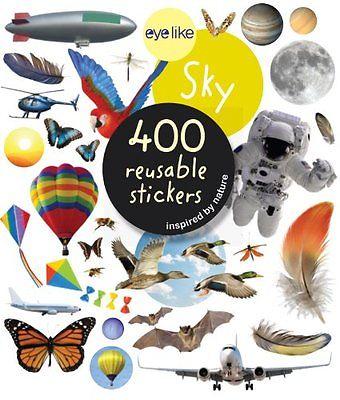 NEW Eyelike Stickers: Sky by Workman Publishing 9780761171416.