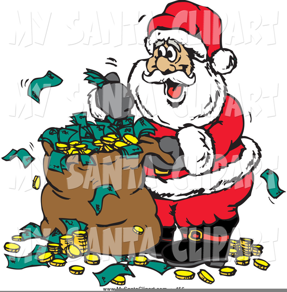 Kris Kringle Free Clipart.