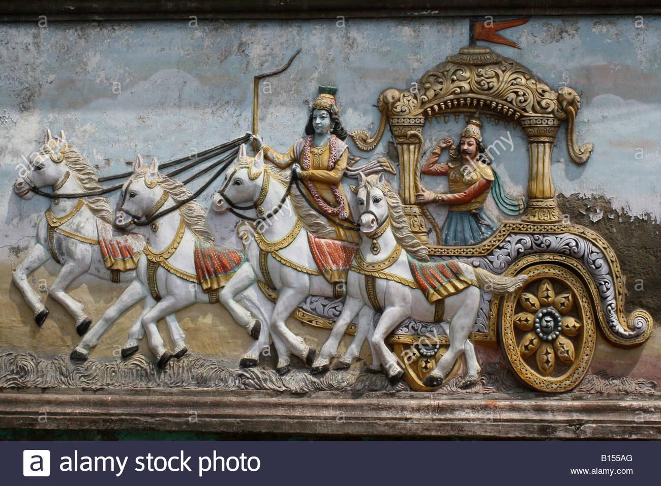 Arjuna And Krishna Stock Photos & Arjuna And Krishna Stock Images.