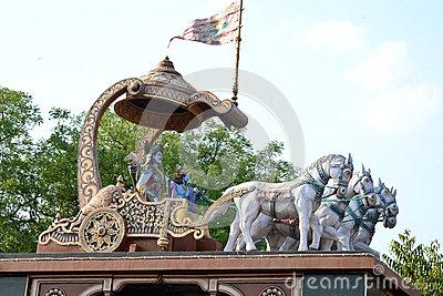 Arjuna Krishna Stock Photos, Images, & Pictures.