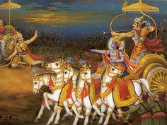 Krishna Arjuna Hanuman.