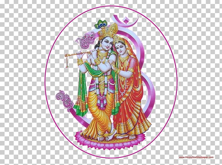 Radha Krishna Darbaar Mein Radha Rani Ke Hinduism PNG.