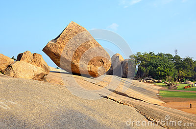 Krishnas Butterball Stockfoto.