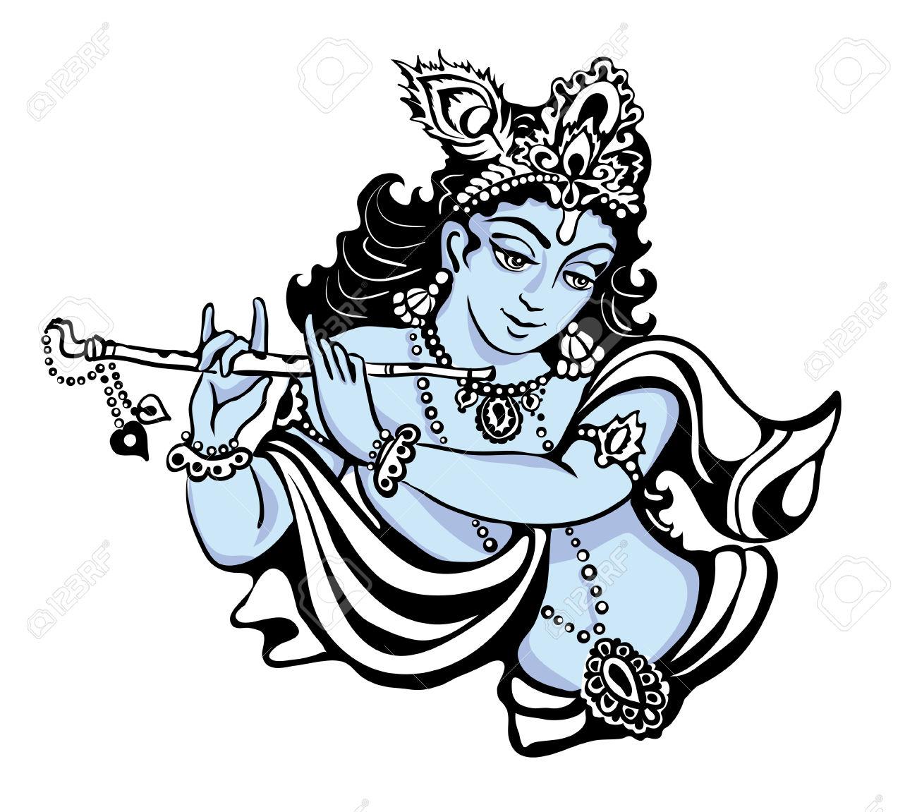 Sri krishna clipart.