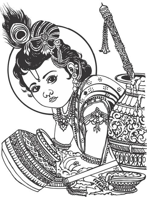 Krishna Clipart.
